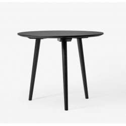 &Tradition In Between Table SK4 Solid Black Stained Oak
