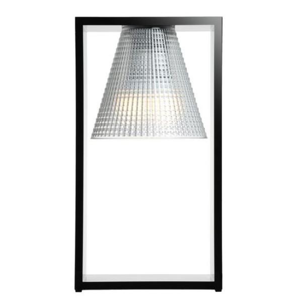 Kartell Light Air Sculptured Table Light Black/Crystal