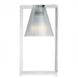 Kartell Light Air Sculptured Table Light Crystal