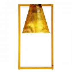 Kartell Light Air Sculptured Table Light Amber
