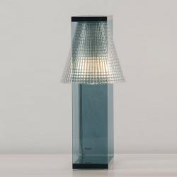 Kartell Light Air Sculptured Table Light Blue