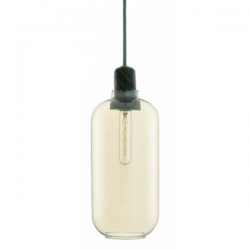 Normann Copenhagen Amp Pendant Large Gold Green