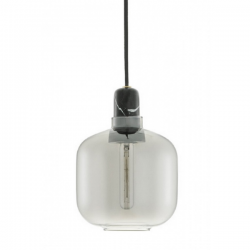 Normann Copenhagen Amp Pendant Light Small Smoke Black