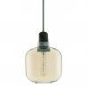 Normann Copenhagen Amp Pendant Light Small Gold Green