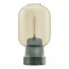 Normann Copenhagen Amp Table Light Gold green