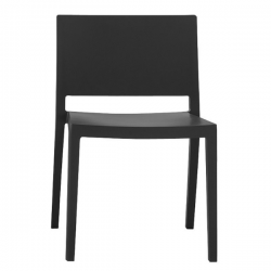 Kartell Lizz Chair Matt   Matt Black