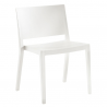 Kartell Lizz Chair Matt  Matt White