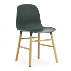 Normann Copenhagen Form Chair Oak Legs Green
