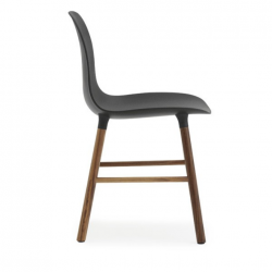 Normann Copenhagen Form Chair Walnut Legs