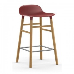 Normann Copenhagen Form Stool 65cm Oak Legs