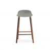 Normann Copenhagen Form Stool 65cm Wallnut Legs