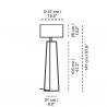 Carpyen Tiffany 2 Floor Lamp