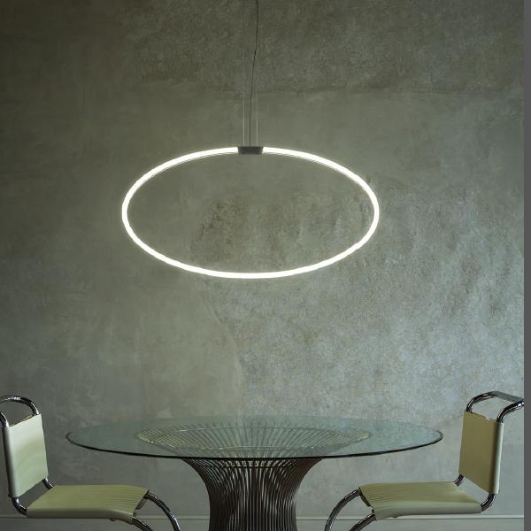 Antonangeli Archetto Shaped Suspension Lamp
