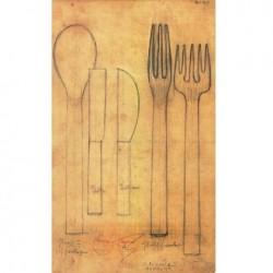 Alessi Rundes Dessert Fork
