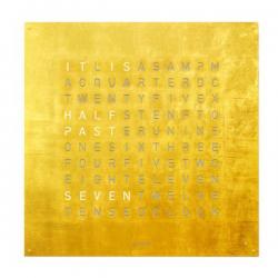 Biegert & Funk QLOCKTWO Gold Creator's Edition