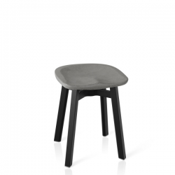 Emeco Su Small Stool Eco - Concrete Seat