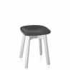 Emeco Su Small Stool Recycled Polyethylene Seat
