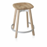 Emeco Su Counter Stool Reclaimed Oak Seat