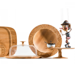 Alessi Dressed in Wood