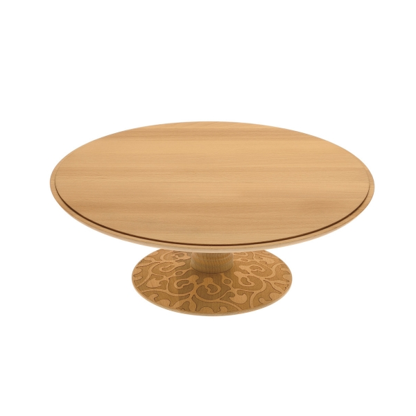Alessi Dressed in Wood Cake Stand