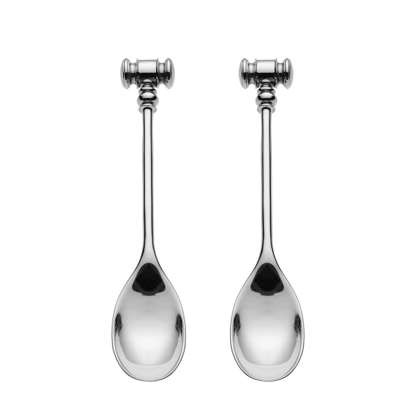 Alessi Dressed Spoon with soft boiled egg opener