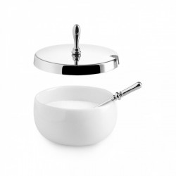 Alessi Dressed Sugar Bowl with Spoon