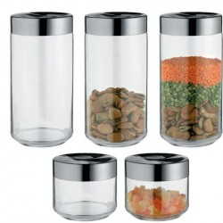Alessi Julieta LC Glass Containers