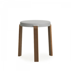 Normann Copenhagen Tap Stool Walnut Grey