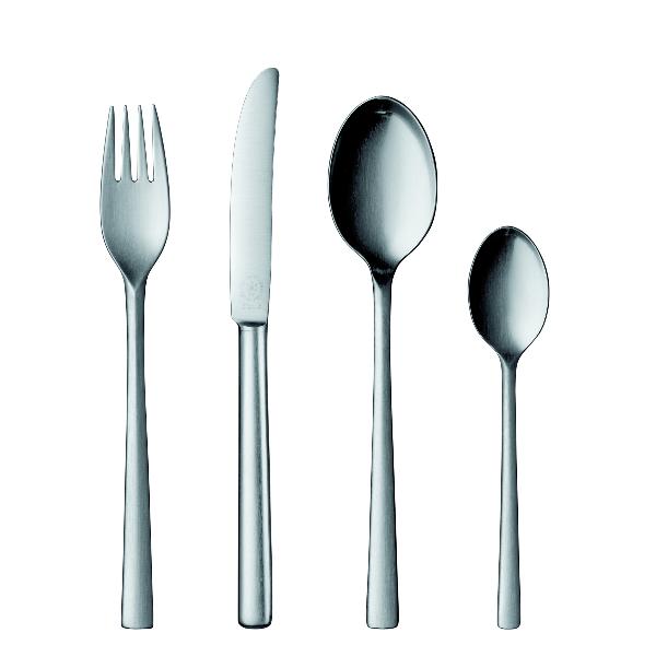 Pott 25 Flatware, 4 piece set, stainless steel