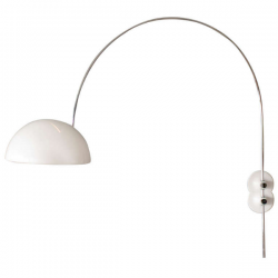 Oluce Coupe 1159 Round wall Lamp