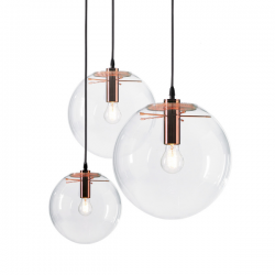 ClassiCon Selene Suspension Lamp Copper