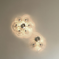 Oluce Fiore 173 Wall / Ceiling Light