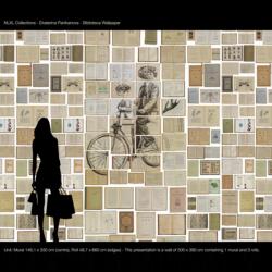 NLXL Eka 3 Biblioteca Wallpaper by Ekaterina Panikanova
