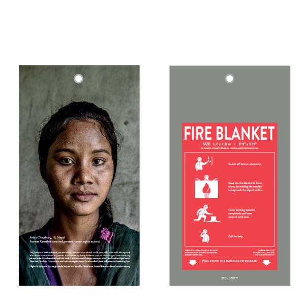 Jalo Helsinski Anital Fire blanket