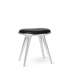 Mater Low Stool Recycled Aluminum