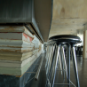 Mater High Stool Recycled Aluminium 69cm