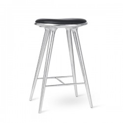 Mater High Stool Recycled Aluminum 74cm