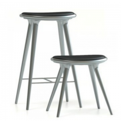 Mater High Stool sRecycled Aluminum 74cm