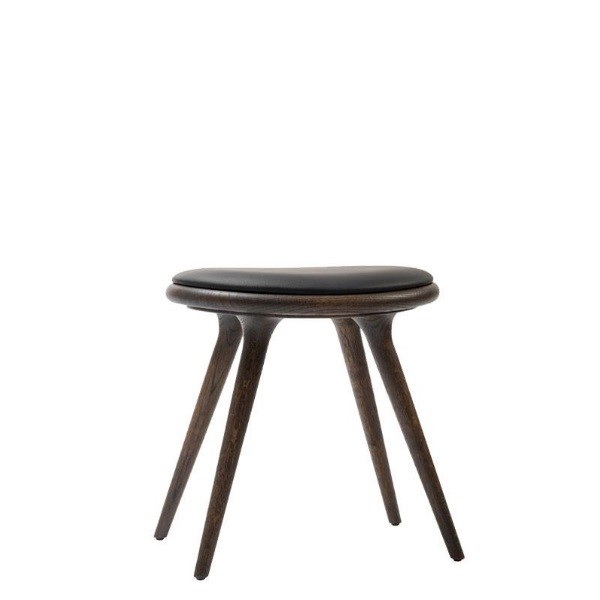 Mater Low Stool Sirka Grey Stained Oak