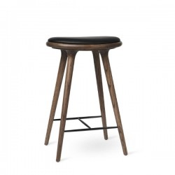 Mater  High Stool Dark Stained Oak 69cm