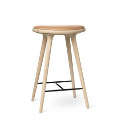 Mater High Stool Oak Natural Soap Finish 69cm