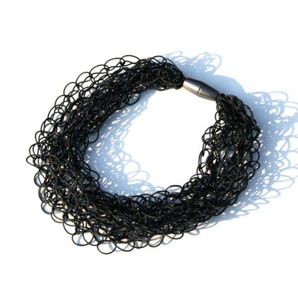 Materia Design Scribble Slim Multi Necklace
