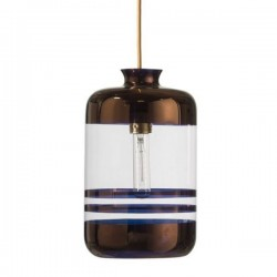 Ebb & Flow Pillar lamp stripes