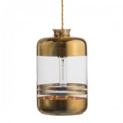 Ebb & Flow Pillar lamp stripes