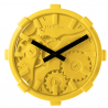 Mal Mono Clock Yellow