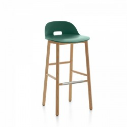 Emeco Alfi Barstool, Low Back