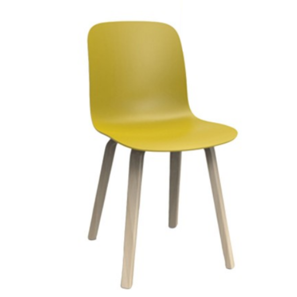 Magis Substance Chair Wooden Legs