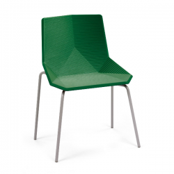 Mobles 114 Green Colors Chair Metal Structure