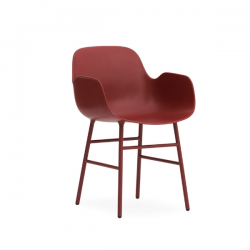Normann Copenhagen Form Armchair Steel Legs