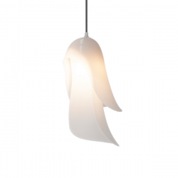 Moustache Cape Pendant Light White